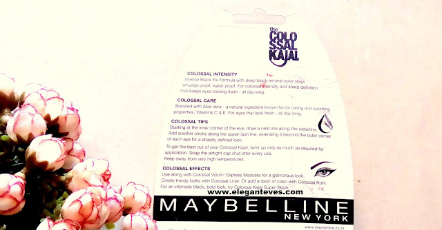 Review of Maybelline Colossal Kajal 24 Hr