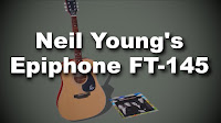 Neil Young Epiphone FT-145 Gitarre