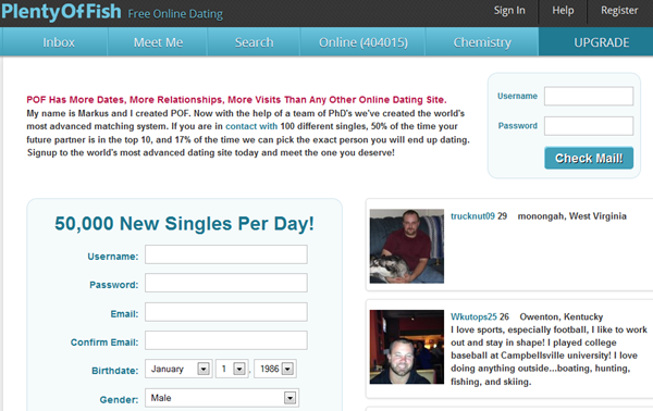Most active free dating sites