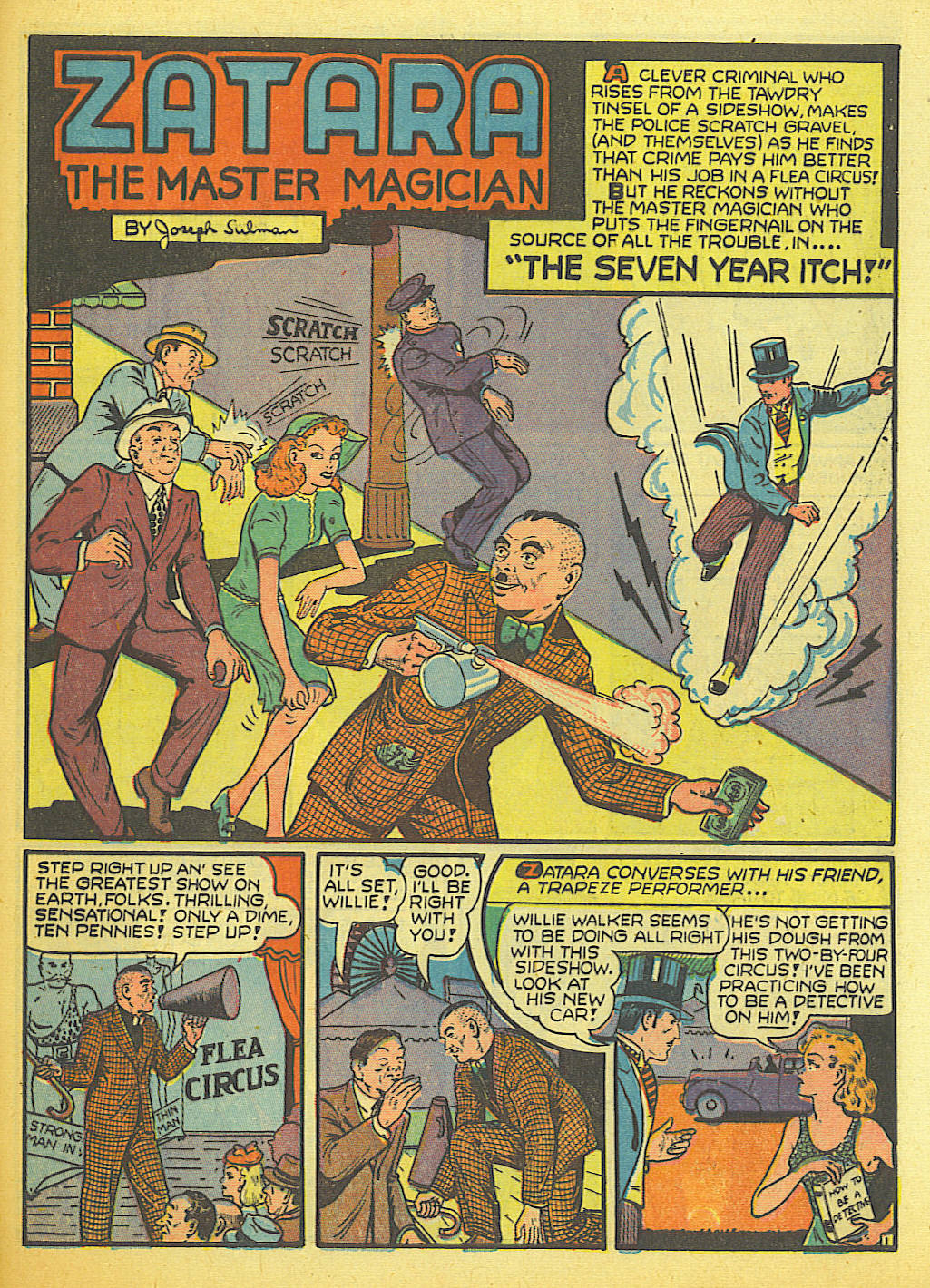 Read online Action Comics (1938) comic -  Issue #58 - 47