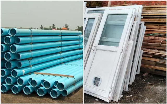 Perbandingan PVC vs uPVC sebagai Material Bangunan