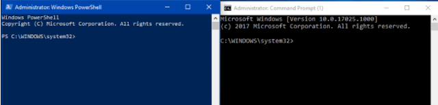PowerShell vs CMD.exe – What is the Difference on Windows 10