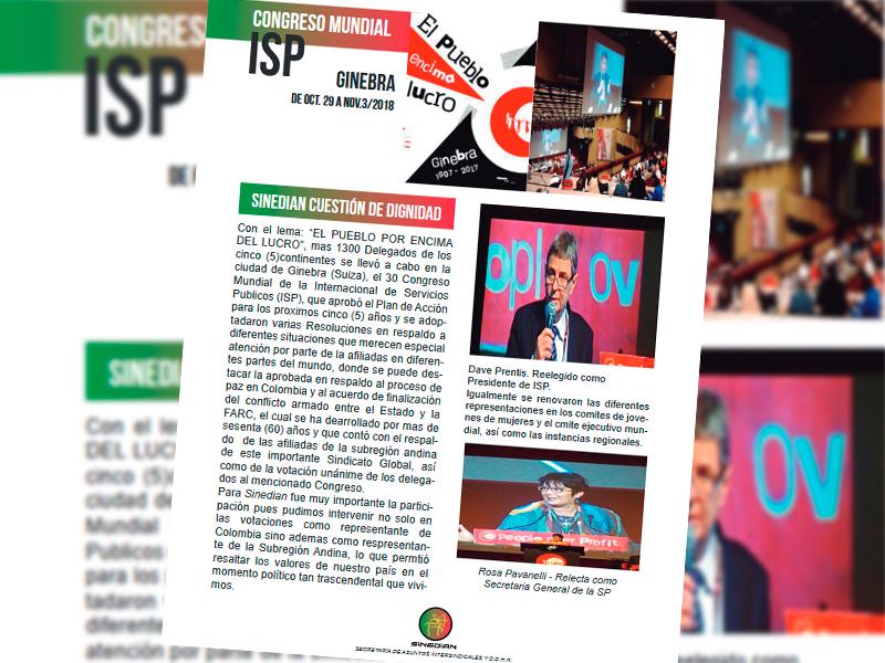 Congreso ISP Ginebra