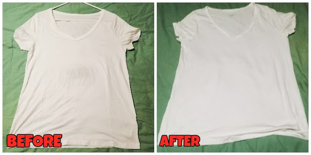 TIPS: HOW TO BRING BACK THE WHITE COLOR TO YOUR CLOTHES ! Very SIMPLE and CHEAP !