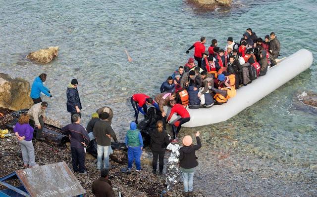 Ανησυχητική αύξηση των μεταναστευτικών ροών στα νησιά του Βορείου Αιγαίου