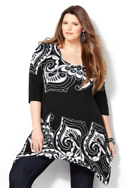 New Formal Wear Shirts And Tops For Plus Size Women By ...
