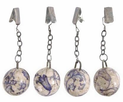 Clip On Shower Curtain Weights