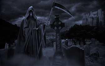La parca y el cementerio