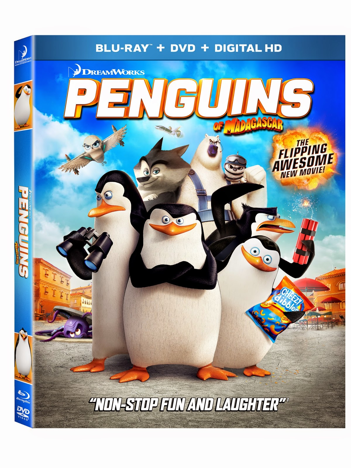 Penguins of Madagascar, DreamWorks
