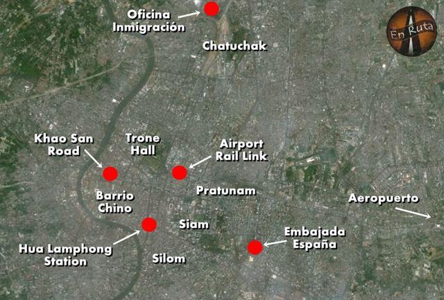 Mapa-Bangkok