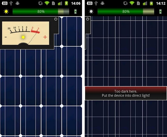 Charge Your Android Phone With Solar Charger Android App
