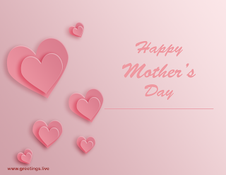 happy mothers day love heart symbols
