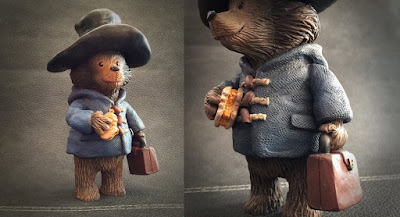 """PB Bear"" Paddington Bear Resin Figure by UME Toys"