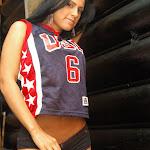 Andrea Rincon, Selena Spice Galeria 27 : Camiseta Basket, Cachetero Negro Foto 59