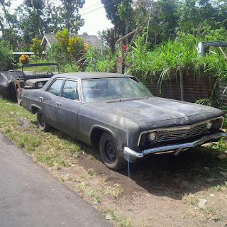 LAPAK BAHAN MOBIL TUA: DIJUAL Bahan Chevy Impala '66 - MAGETAN