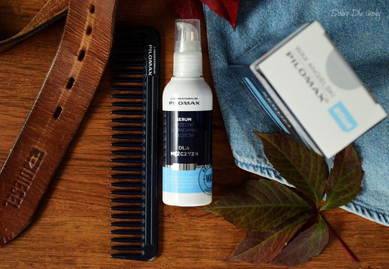 ShinyBox MBOX It's a man's world - Pilomax SERUM przeciw wypadaniu włosów dla mężczyzn