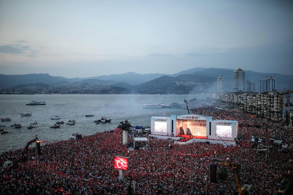Мітинг в Туреччині, Ізмір