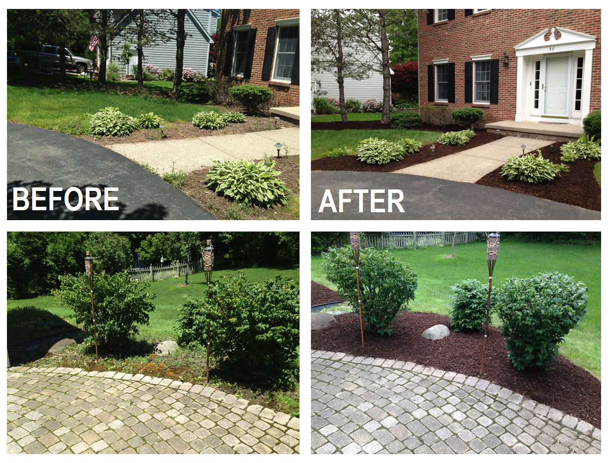 mulch is the easiest way to instantly spruce up your flower beds and borders taking your curb appeal to the next level selling your house or prepping for - Curb Appeal Tips