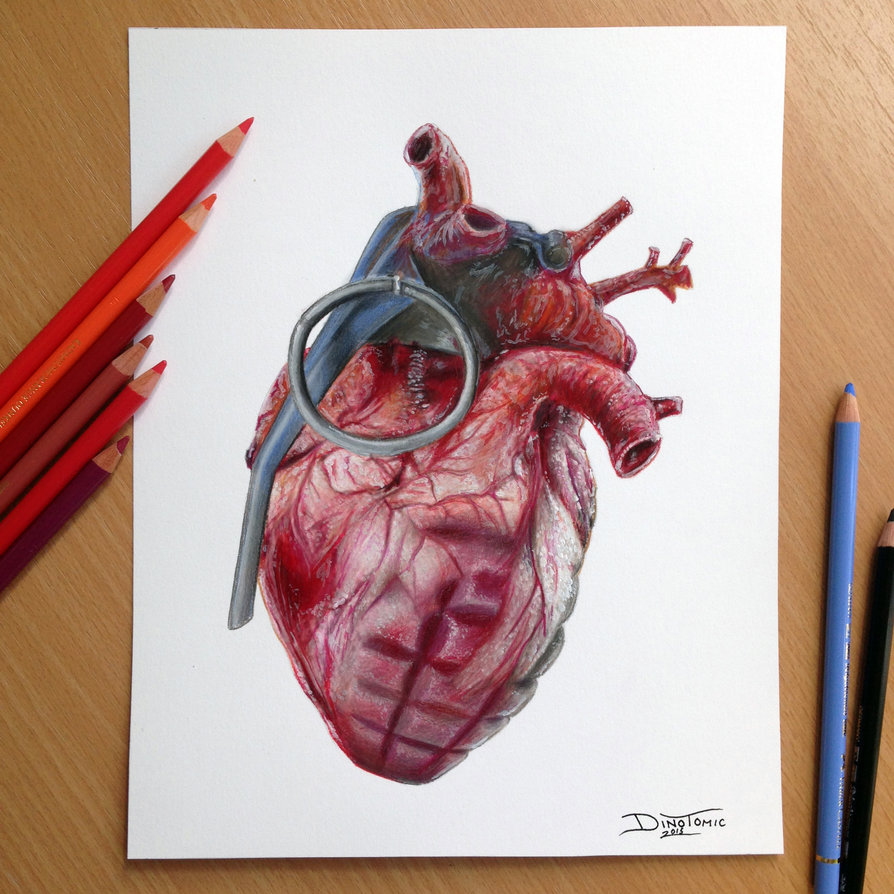 25-Grenade-Heart-Pencil-Drawing-Dino-Tomic-AtomiccircuS-Drawing-Painting-Tips-and-Digital-Art-www-designstack-co