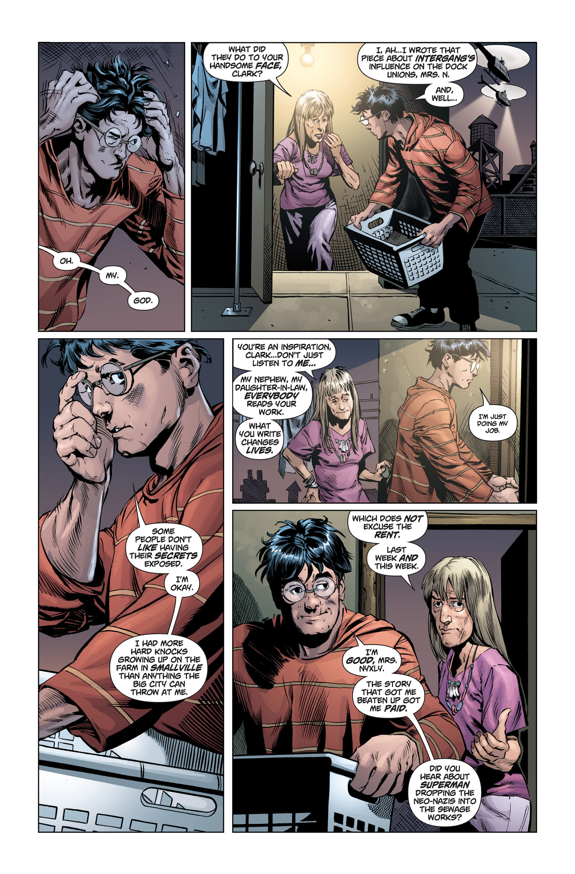 Read online Action Comics (2011) comic -  Issue #1 - 25