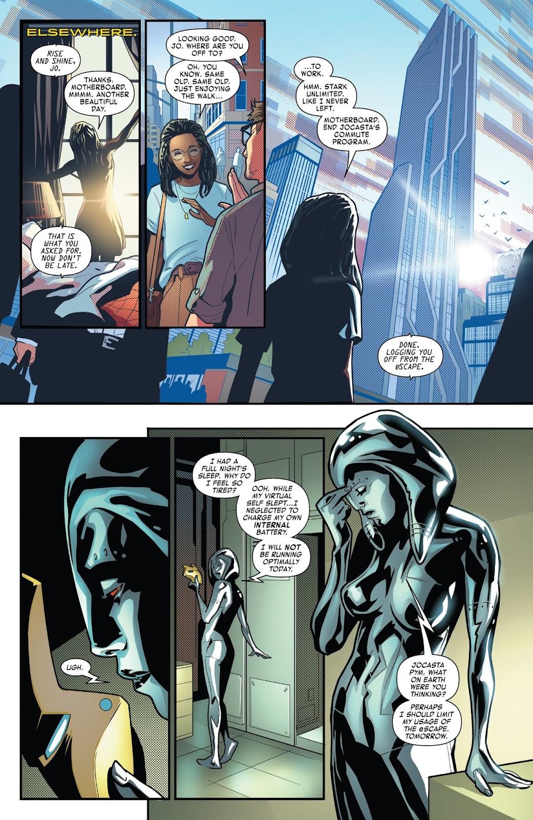 Read online Tony Stark: Iron Man comic -  Issue #6 - 11