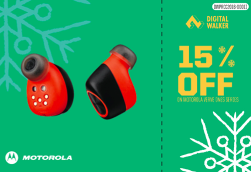 15% off on Motorola Verve Ones series