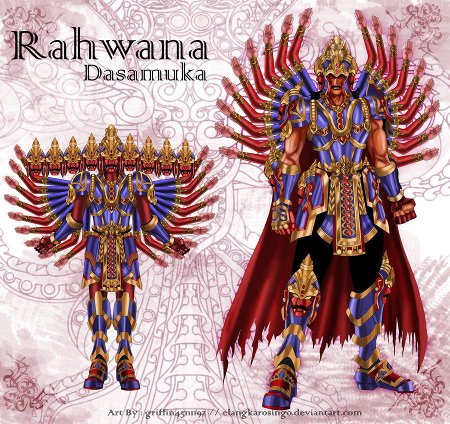 Kumpulan Gambar Kartun Wayang Dp Super Legenda Rahwana Saiya Animasi