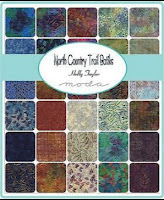 North Country Trail Batiks Charm Pack by Holly Taylor for Moda