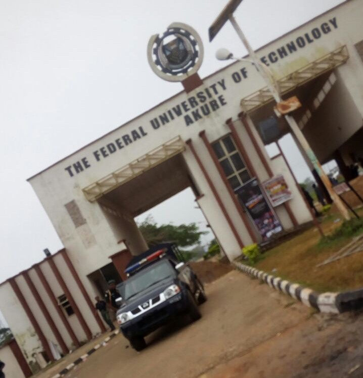 Image result for FUTA North and South gates