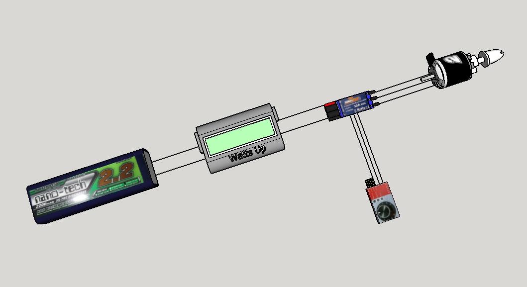 baijal diy  rc brushless motor thrust meter