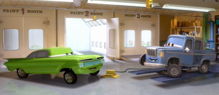 Dan The Pixar Fan Cars 2 Artist Ramone