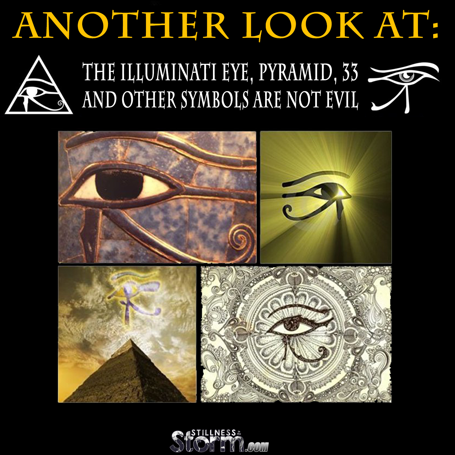 All On The Illuminati: Another Look At: The Illuminati Eye, Pyramid, 33, And