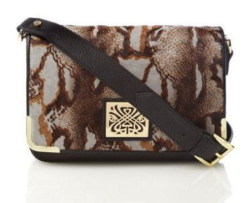 3cdb3ea0224b As a treat we bought this cute leopard print pony make up bag! It also  comes in the grey snake pony and the black all over Biba emboss pattern!