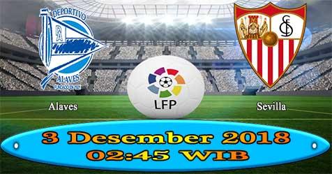 Prediksi Bola855 Alaves vs Sevilla 3 Desember 2018