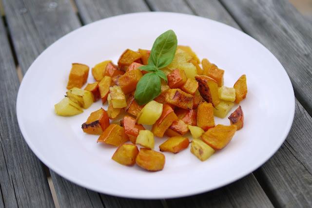 Kürbisgemüse aus dem Ofen | Rezept | Kochen | Essen