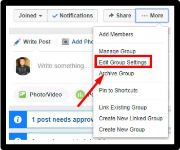 How To Change Group Name Facebook