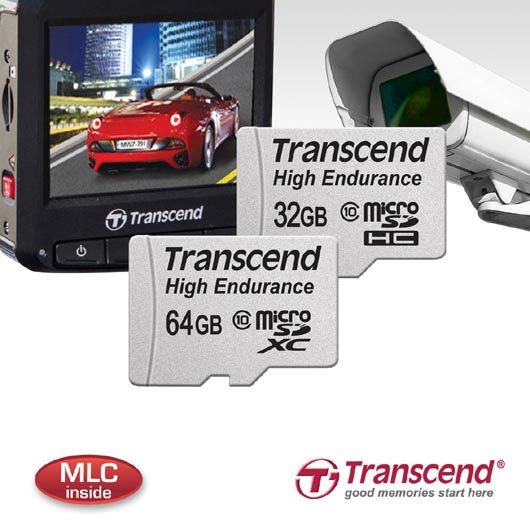 Transcend High Endurance Memory Cards