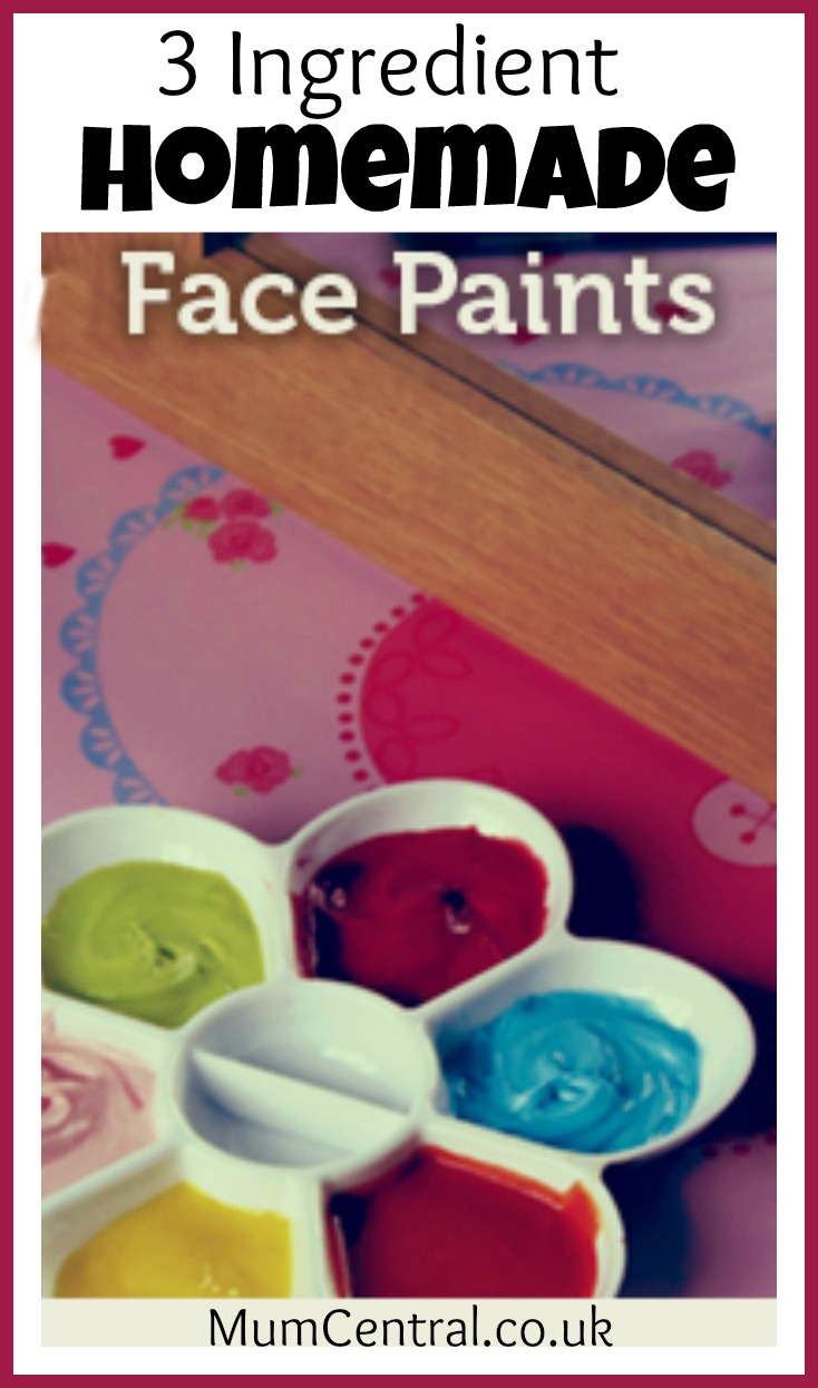 Homemade Face Paints | Growing A Jeweled Rose