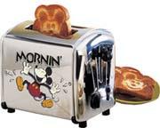 Mickey Holy Toast