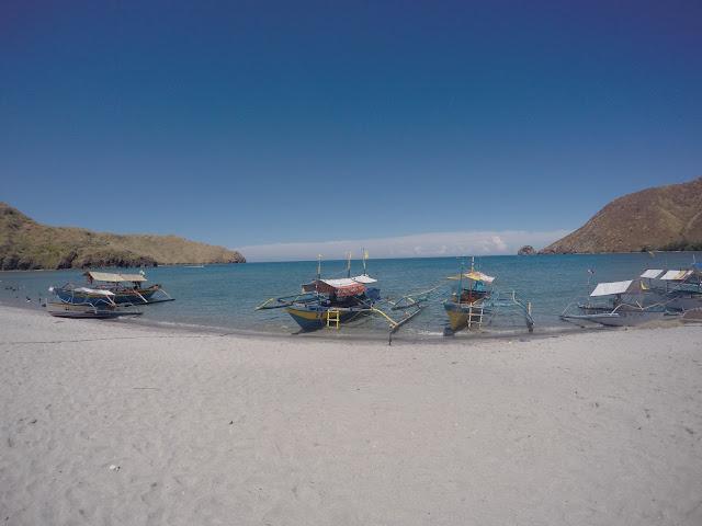 Beaches in the philippines zambales anawangin cove beachfront