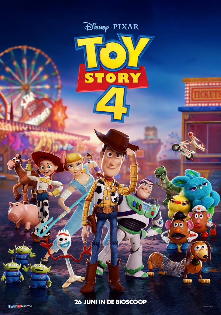 The Adventure of a Lifetime 'Toy Story 4' International ...