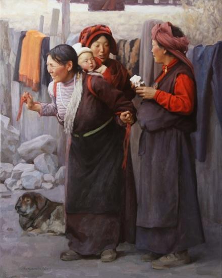 Benjamin Wu | 1961 | Chinese Figurative Artist