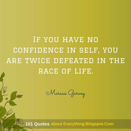have no confidence