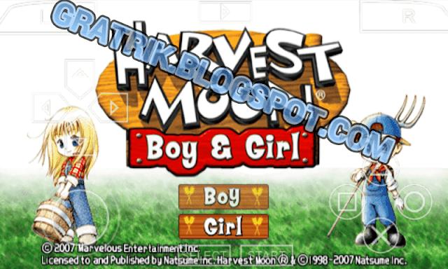 😱 Harvest moon boy and girl psp | (PSP Android) Harvest