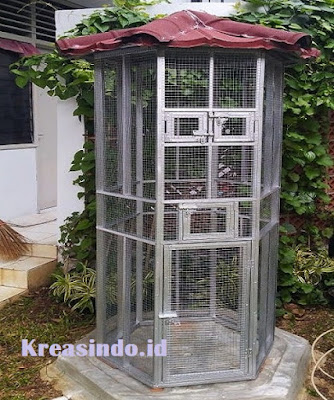 Jasa pembuatan Kandang Aluminium untuk Burung Cucak Rowo di Jakarta