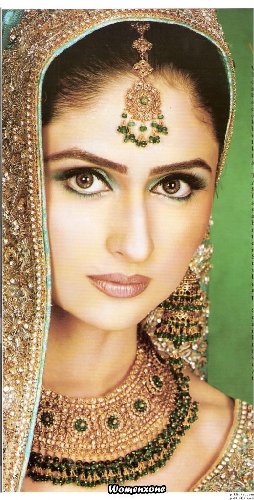 beautiful bride eyes - photo #36