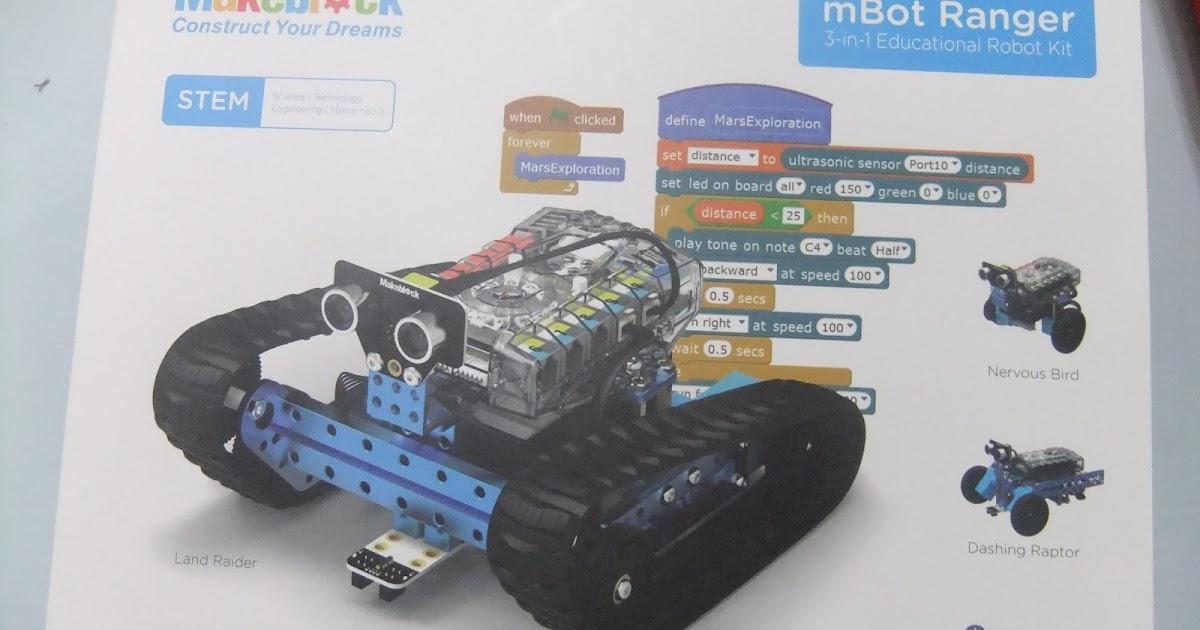 探奇 EV3 樂高機器人 LEGO BOOST mBot 教學 Touch Classroom : Makeblock全新的STEM教育機器人 mBot Ranger 開箱文 - 第一篇 就是 ...
