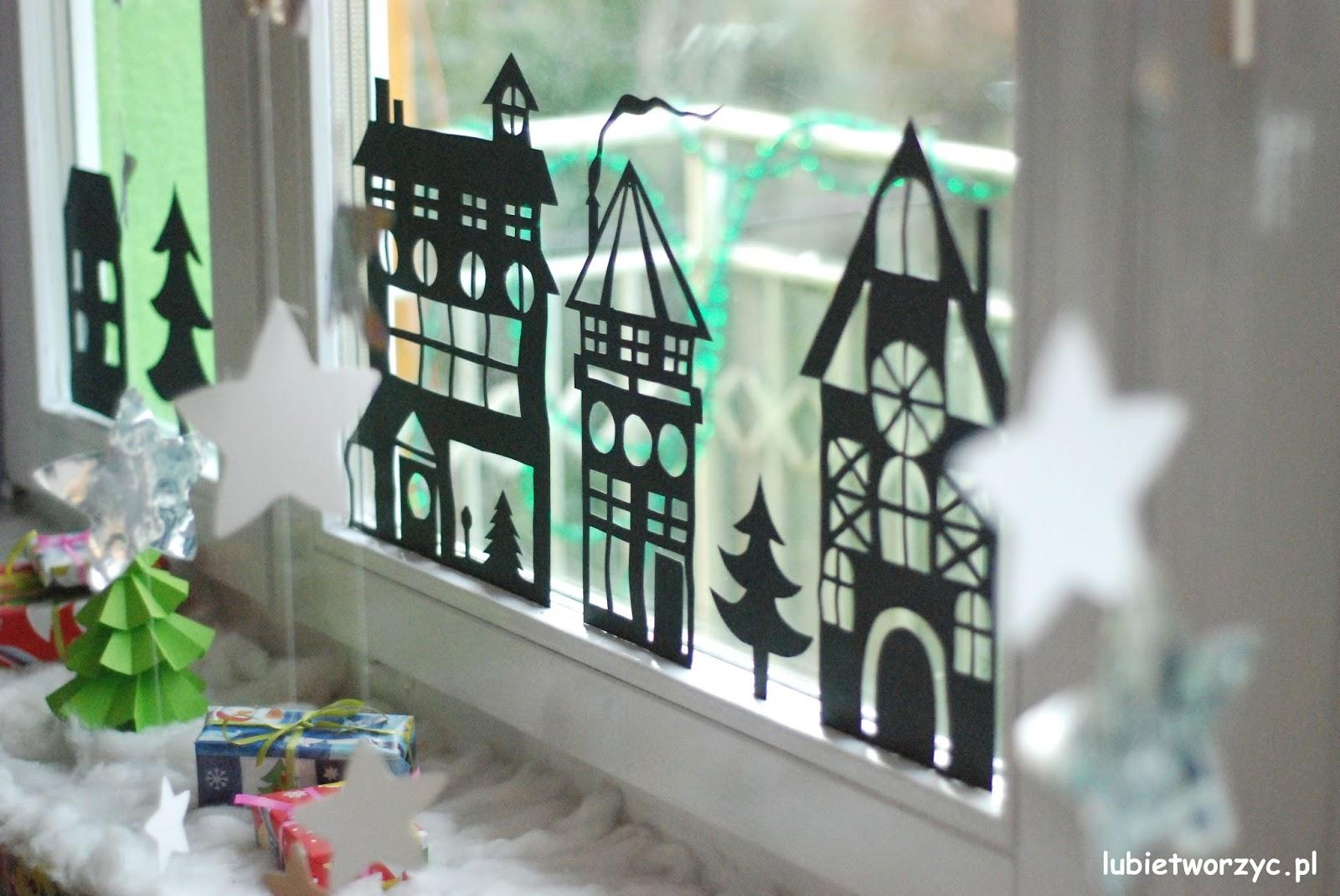 Lubię Tworzyć Domki Gwiazdki I Chmurki Czyli Zimowo