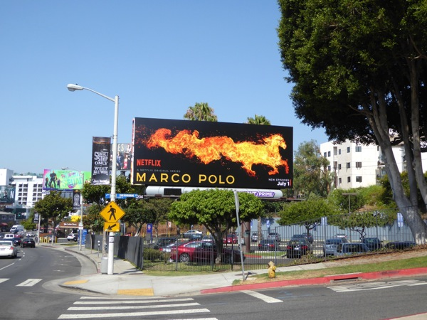 Marco Polo season 2 horse billboard