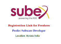 Subex-Registration-Link-for-Freshers